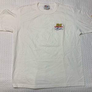 NWOT NASCAR Jeff Gordon Embroidered logo Size L